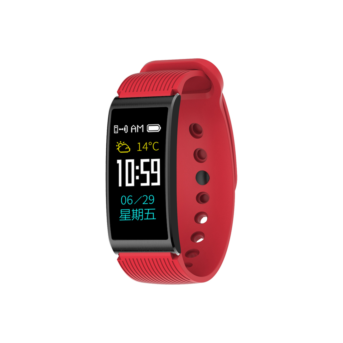Sport Smart Bracelet Wristwatch Square Digital Run Intelligent Watches Led New Fashion Clock Men Women Rrechargeable Relogio black and red smart bracelet watch men women outdoor sport wristwatch silicone rectangle hot sale cool watches intelligent clock
