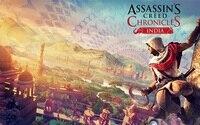 Assassins creed chroniken indien 4 Größen Dekoration Leinwand-plakat-druck
