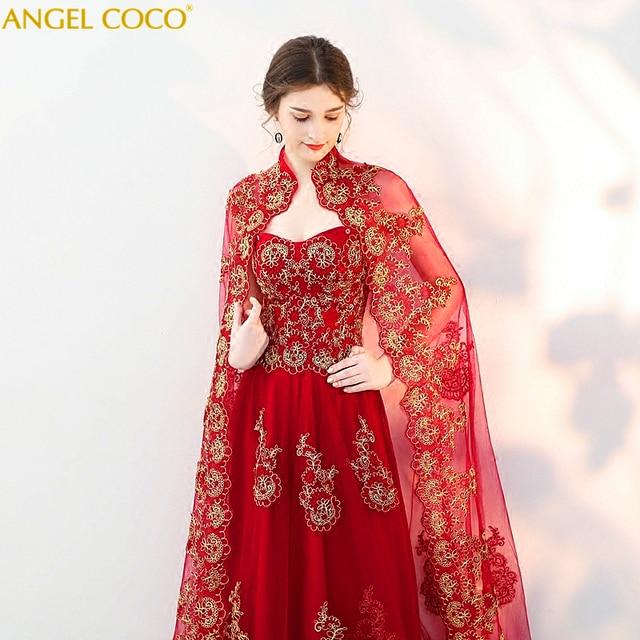 d1a189125fd27 US $158.4 20% OFF 2 Piece Saudi Arabia Dubai Abaya Luxury Burgundy Evening  Dresses Gown Evening Capes Robe Rouge Plus Size Robe De Soiree Hijab -in ...