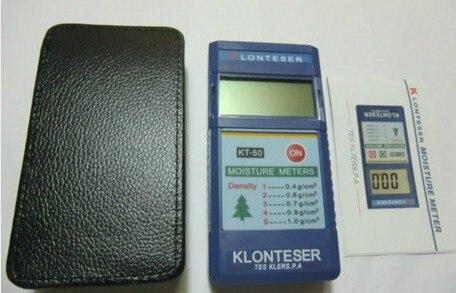Free shipping KT-50B Digital Inductive Paper Wood Tree Timber Moisture Meter Measuring range 2~90% 0.1 Accuracy  цены