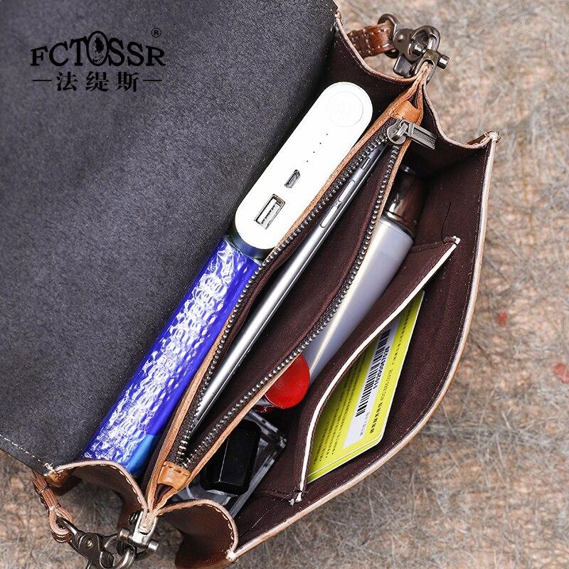 Новая маленькая квадратная сумка в стиле ретро, простая мини сумка на плечо, женская сумка ручной работы из коровьей кожи, женская сумка с рисунком - 3