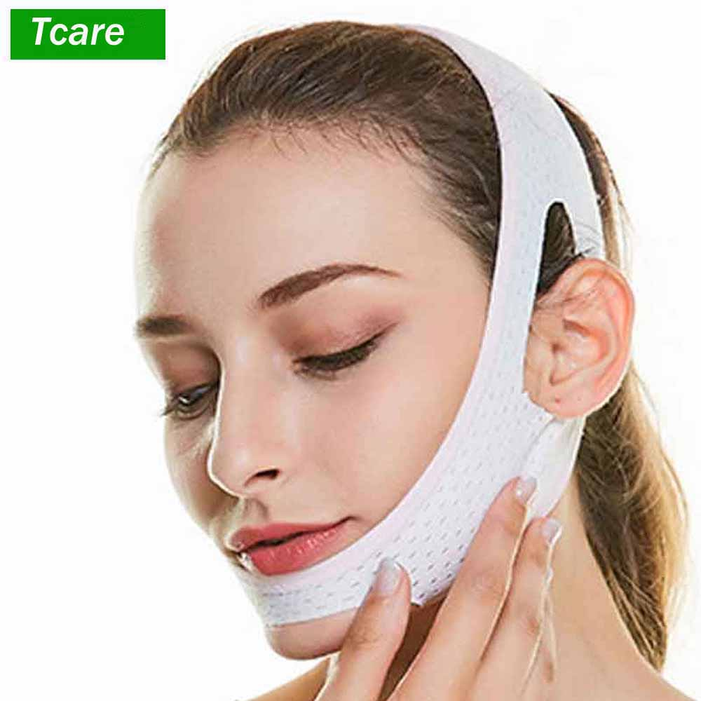 1Pcs Chin Cheek Slim Lift Up Anti Wrinkle Mask Ultra-thin V Face Line Belt Strap Band Chin Cheek Slim Lift Up Anti Wrinkle Mask