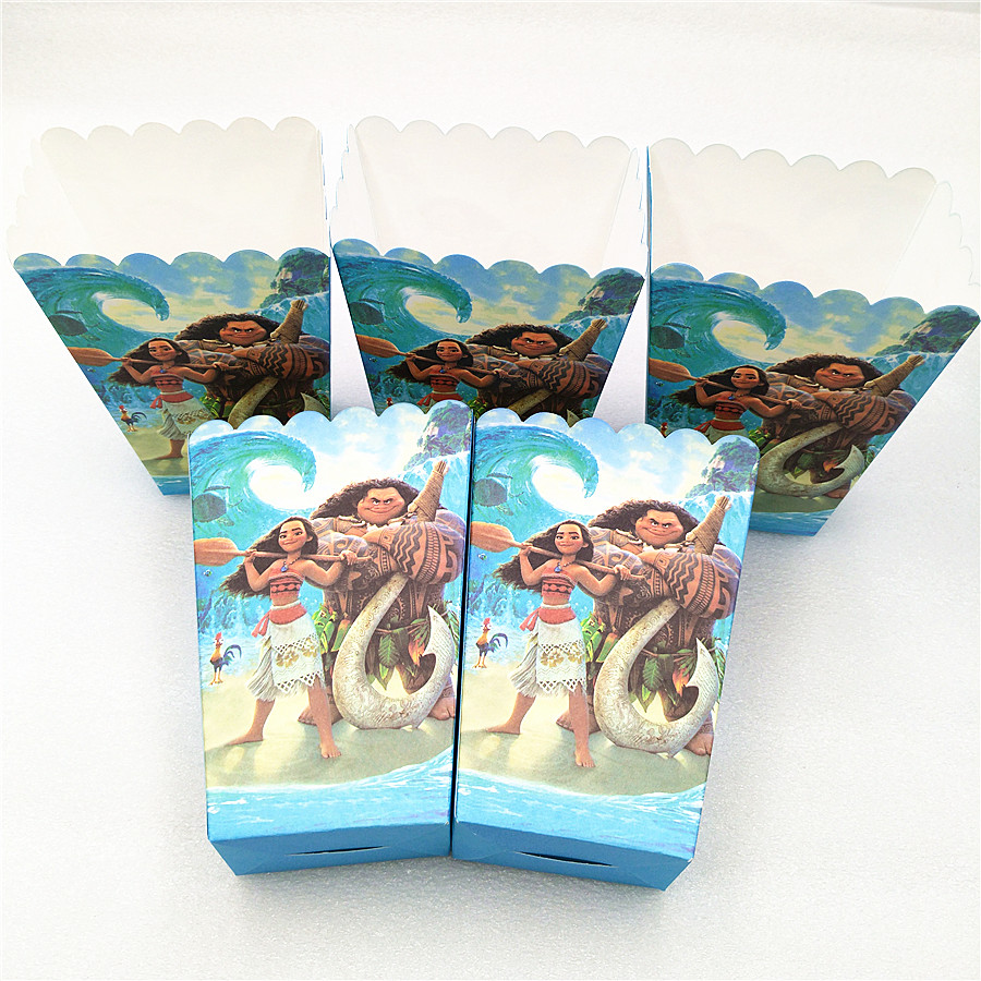 6pcs set Puppy Patrol Party Supplies Paper Popcorn Boxes Candy Gift Box Bags Baby Shower Kids Birthday Party Decoration Favors in Gift Bags Wrapping Supplies from Home Garden
