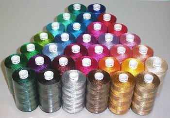 61 cones and colors 1000m 100% polyester embroidery thread  for embroidery machine yarn+ free shipping
