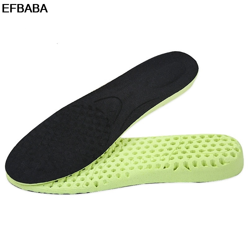 EFBABA Height Increase Insole Honeycomb Shock Absorbing Insoles Sweat Breathable Shoe Pad Inserts Accessoire Chaussure 1.5 ~ 3cm
