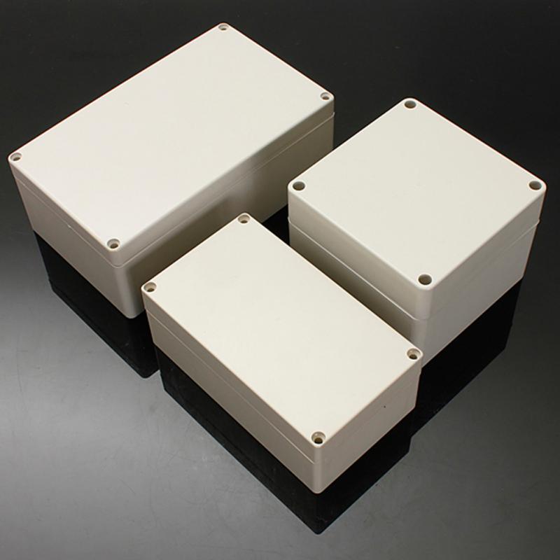 Rectangular Shape IP66 Waterproof ABS Plastic Electronic Box Power ...