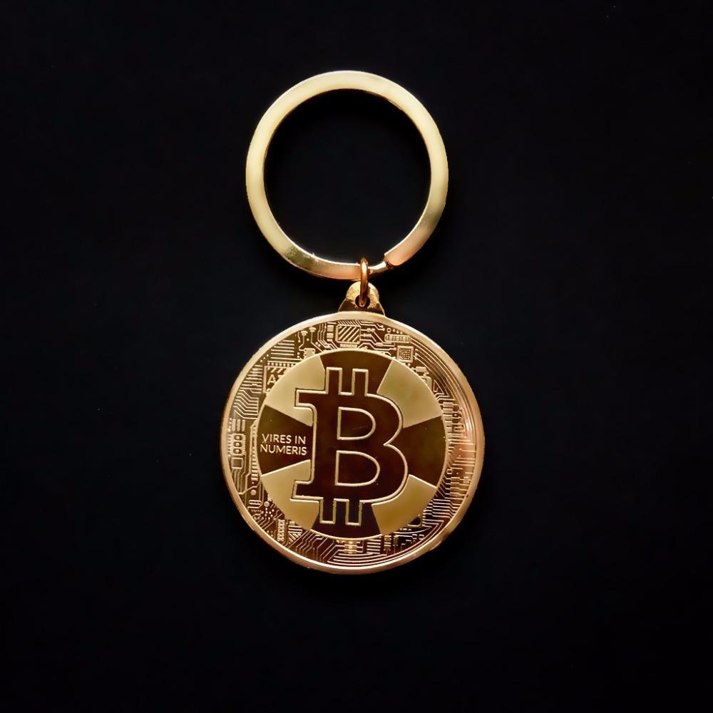 Bitcoin Keychain (Gold, Silver, Rose Gold)