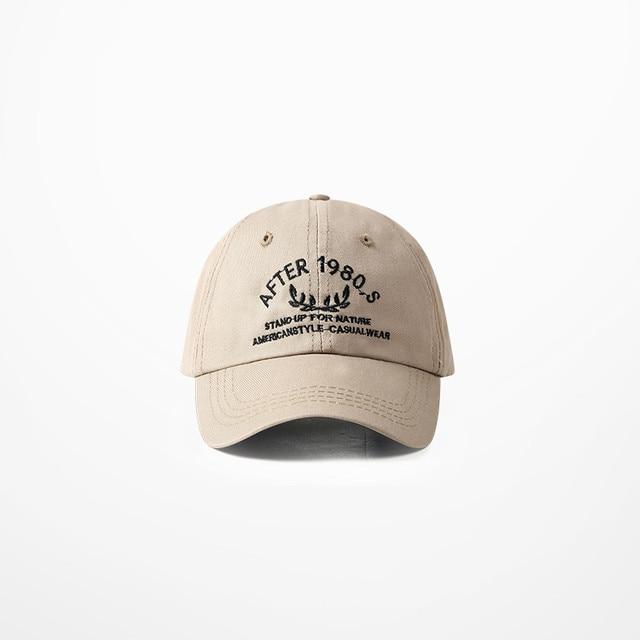 American Retro Water Washed Soft Duck Tongue Cap High Street Streetwear Khaki Black Purple Cap For Men And Women