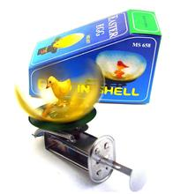 Childhood Memory Adult Collection Toys Cute Wind up Tin toys Antique metal toys for children MS657 chicken hatch animals