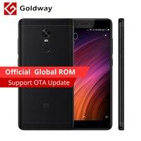 Original Xiaomi Redmi Note 4X Pro Prime Mobile Phone 4GB RAM 64GB ROM MTK Helio X20 Deca Core 5.5