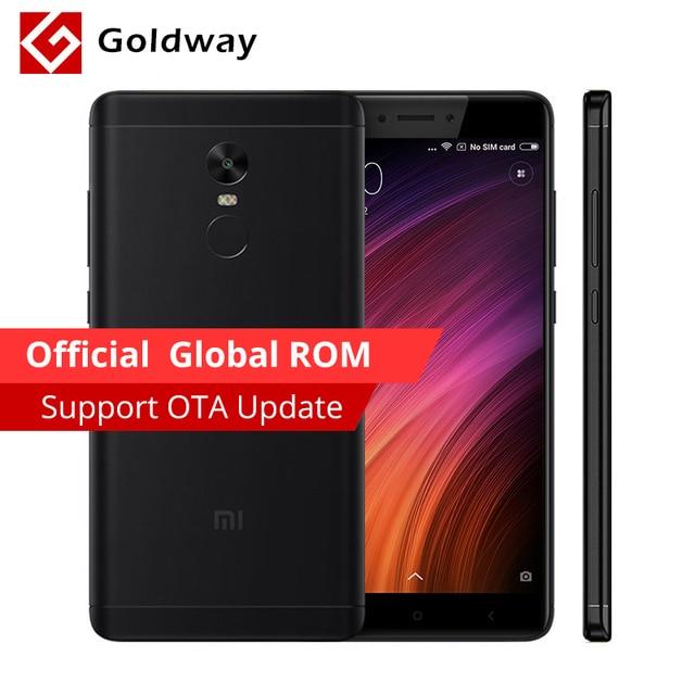 """Оригинальный Xiaomi Redmi Note 4X Pro премьер мобильный телефон 4 ГБ Оперативная память 64 ГБ Встроенная память MTK helio X20 Дека core 5.5 """"FHD Miui 8 4100 мАч Батарея"""