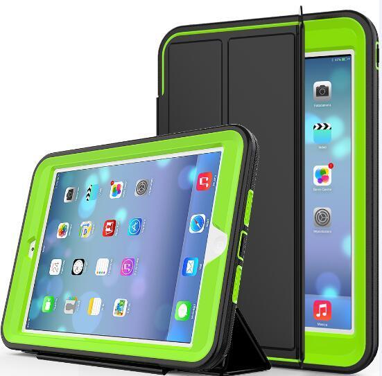 Чехол для iPad Mini 123 tablet Обложка для mini 2 mini 3 Heavy Duty противоударный Гибридный Резина Прочный жесткий защитный кожа случае