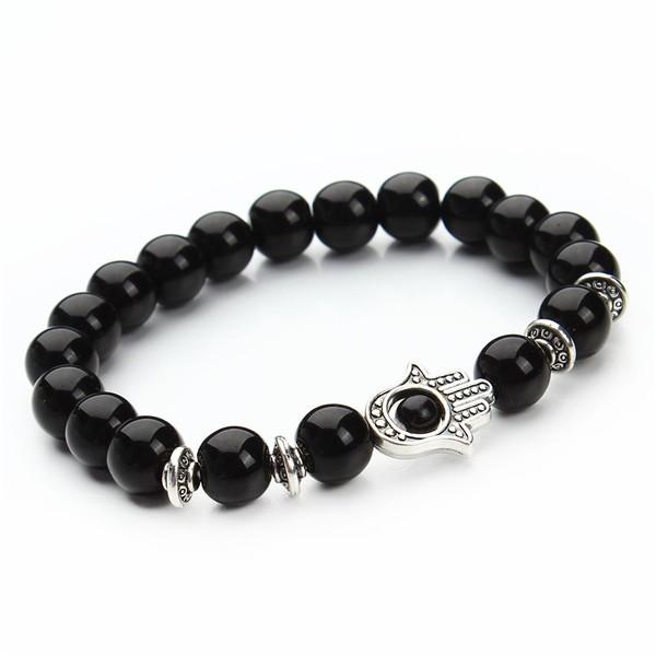 1-pcs-Nature-8mm-Black-Lava-Energy-Stone-Beads-Bracelet-Gold-Hamsa-Hand-Charm-Bracelet-Yoga (1)