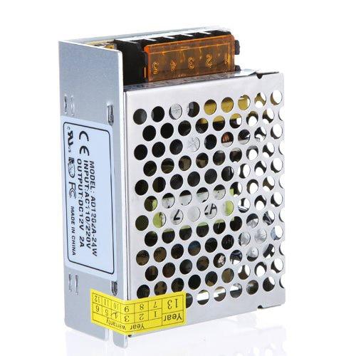 WSFS Hot Sale  Metal AC 85V263V to DC 12V 2A 24W Voltage Transformer Switch Power Supply