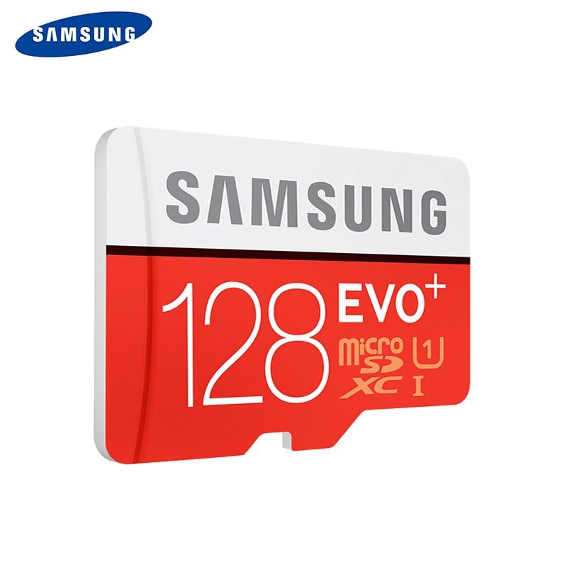 SAMSUNG 100% Original TF Micro SD Card memory Card MicroSD EVO Plus Class 10 Grade 3 32GB 64GB 128GB Smartphone Tablet Camera все цены