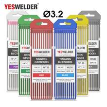 YESWELDER 10pk TIG Welding Tungsten 3.2*175mm WP WT20 WC20 WL15 WL20 WX(China)