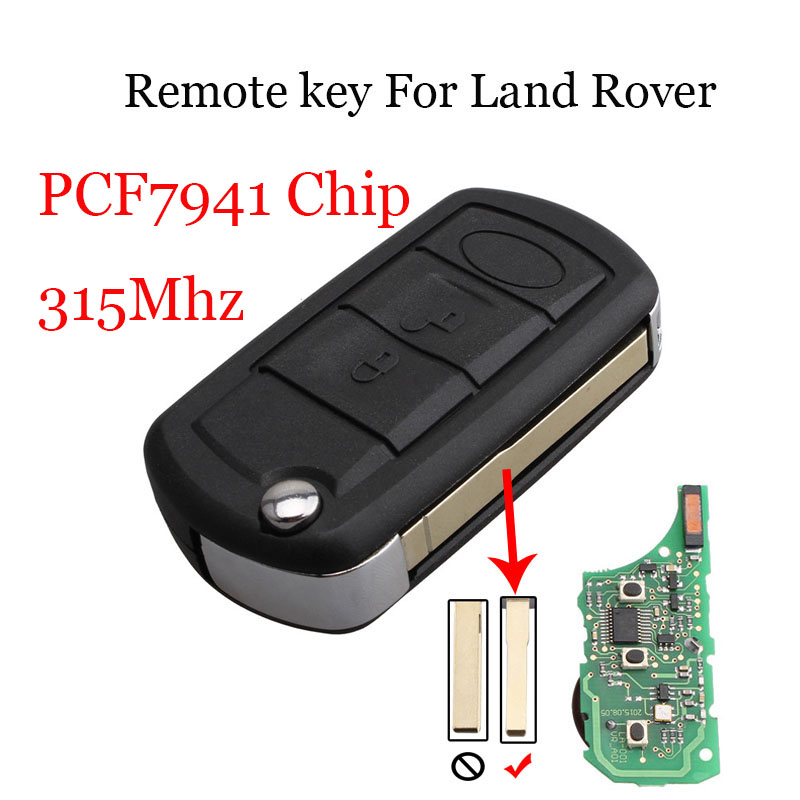 Ignition System 3pcs*3buttons 315mhz Pcf7941 Chip Remote Key For Land Rover Range Rover Lr3 Range Rover Sport 2008 2009 2010 Original Key Skilful Manufacture Automobiles & Motorcycles
