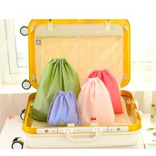 Waterproof Drawstring Bag Wash Pouch Cartoon Travel Luggage Bags Clothes Storage Shoe Organizer Pocket Cosmetic Make Up Case