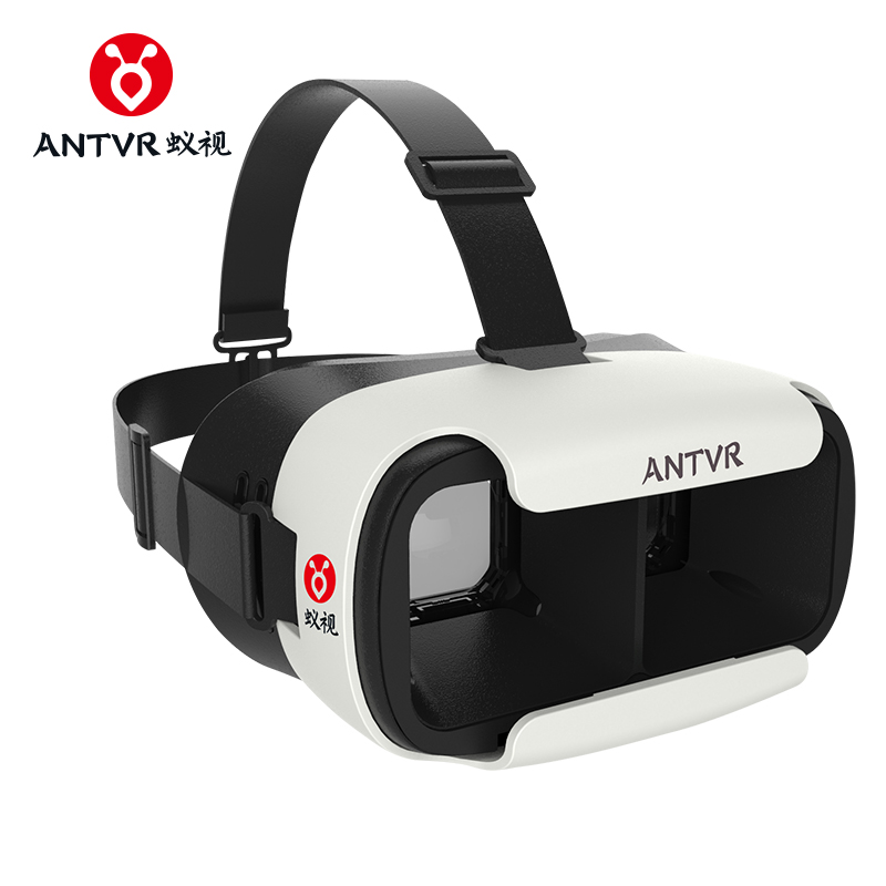 ANTVR Loop distortion-free 3D VR Box Glasses VR Helmet Headset Head-mounted for 5-6 inch Android IOS iPhone Samsung Xiaomi Phone