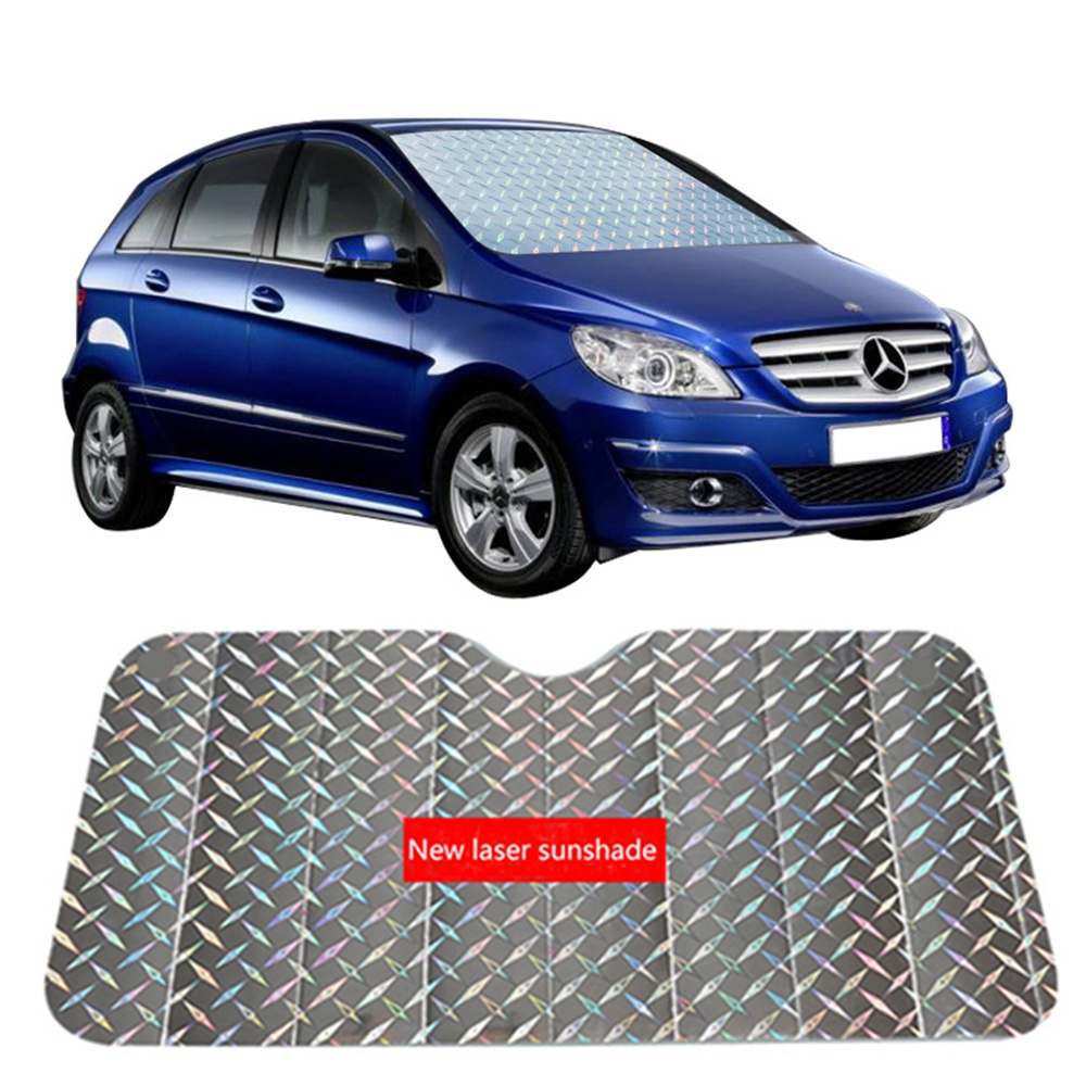 Car Window Sunshade Front Windshield Sunshade Sun Protection Suitable Multiple Types Car Windshield Sun Shade Visor Film