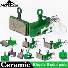 4 Pairs Bicycle Ceramics Disc Brake Pads for MTB Hydraulic Disc Brake SHIMAN0 SRAM AVID HAYES TEKTRO Magura Formula Bicycle Pads