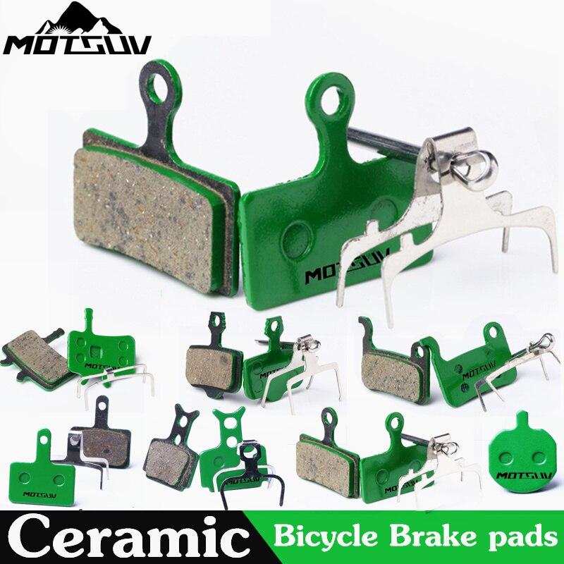 4 Pares de La Bicicleta de Disco De Cerámica de Pastillas De Freno para MTB Hidráulico SHIMAN0 SRAM AVID Freno de disco HAYES Fórmula Magura TEKTRO Bicicleta almohadillas