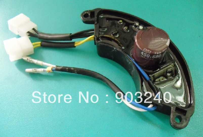 10 Wires Diesel Generator Single phase AVR For Kipor,KAMA 186F 178F
