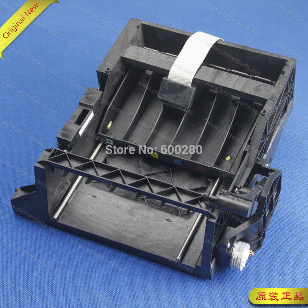 все цены на Q1251-60257 C6090-60083 Service station assembly for HP DesignJet 5000 5100 5500 Original used онлайн