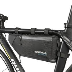 Rowerowa torba rowerowa przednia rurka rama telefon wodoodporna torba na rower uchwyt na siodło MTB Mountain Bike akcesoria do telefonów komórkowych