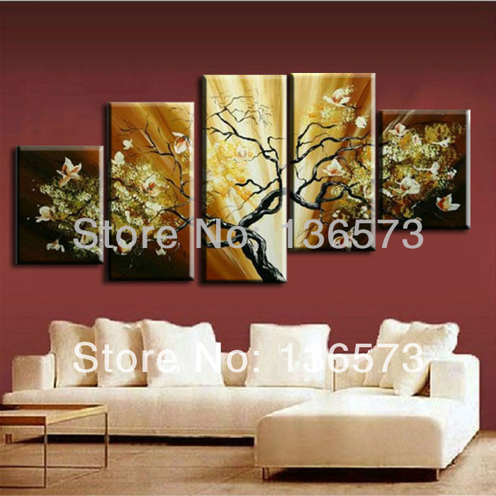 hand painted flowers painting canvas modern abstract home number 5 jackson pollock 1948 wall painting picture leaf