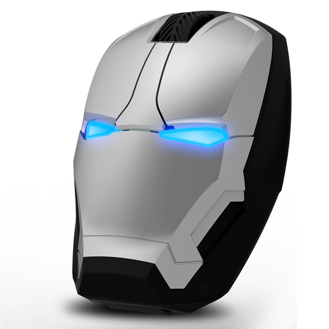 Iron man Wireless Mouse For PC