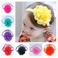Hot Sale Baby Headband Elastic Hair Bands Baby Girls Headbands Infant Newborn Photography Props Flower Headwear Accessories