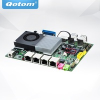 QOTOM Core i5 Mini Motherboard Q4200YG4 P with 4 Gigabit NIC to build Firewall Router
