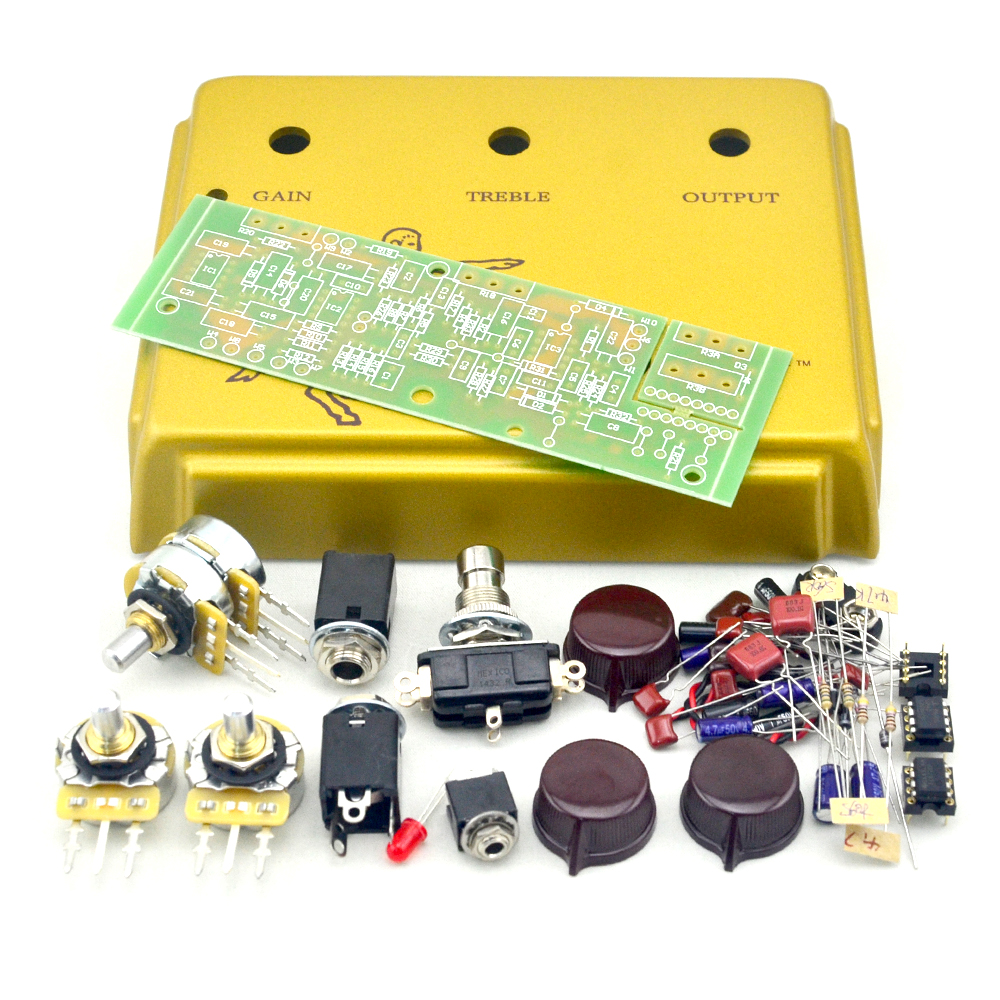 New DIY Klon Centaur Professional Overdrive Effect Pedal All Kits With