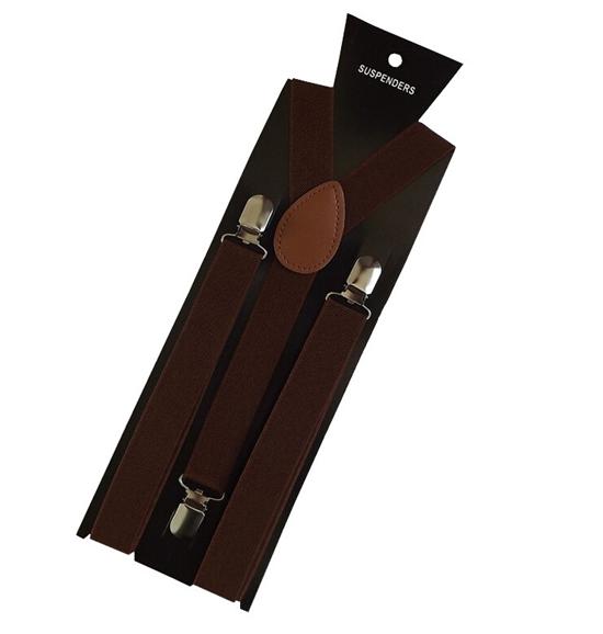 More Color For Choose New Mens Womens Unisex Clip-on Suspenders Elastic Y-Shape Adjustable Braces Colorful- 0055 15