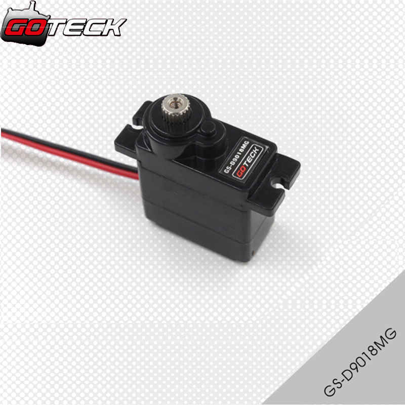 Goteck GS-D9018MG 11g digital micro servo with metal gear 1.5/1.8kg torque for RC AircraftGoteck GS-D9018MG 11g digital micro servo with metal gear 1.5/1.8kg torque for RC Aircraft