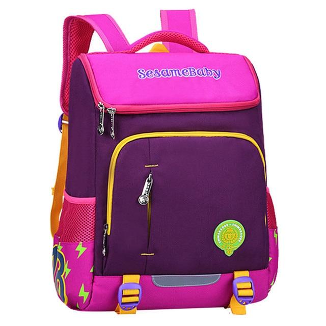 32872b314e948 Mochilas مدرسية 2019 الأطفال الحقائب المدرسية للفتيات الفتيان على ظهره الاطفال  حقيبة كتب فتاة المدرسية حقيبة