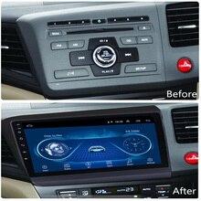 Супер тонкий сенсорный экран Android 8,1 радио gps навигация для Honda Civic 2012 2013 головное устройство планшеты стерео Мультимедиа Bluetooth