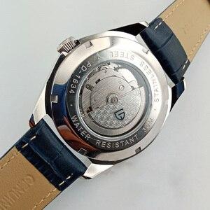 Image 5 - PAGANI 남자 기계식 시계 2020 최고 브랜드 럭셔리 시계 남자 자동 가죽 시계 남자 방수 시계 Relogio Masculino