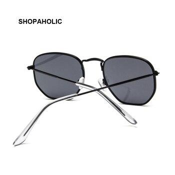 2019 Retro Round Sunglasses Women Brand Designer Sun Glasses for Women Alloy Mirror Sunglasses Ray Female Oculos De Sol 6