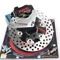 Motocicleta rpm hidráulico da pinça de freio a disco adaptador disco flutuante do sistema conjunto de 200mm e 220mm para honda dio 18/27/28/zx34/35/36