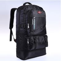 60L водонепроницаемый мужской нейлоновый рюкзак для путешествий, спортивная сумка для отдыха на природе, альпинизма, туризма, альпинизма, ке...