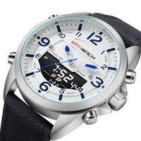 2019 New Outdoor Sports Men's Watch Multifunctional Luminous Waterproof Electronic Watches Mountain Climbing Quartz Wristwatch