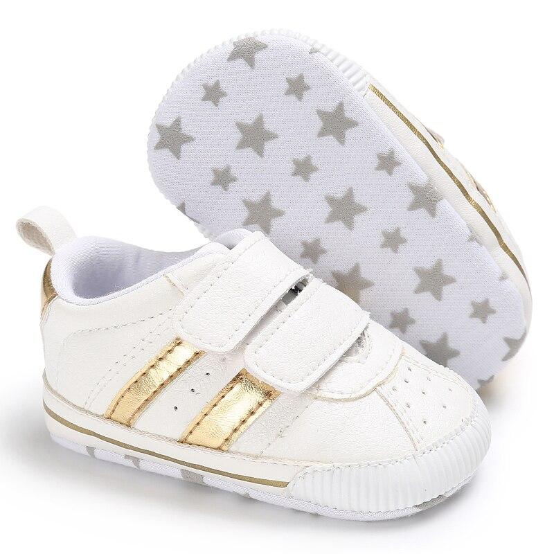 Nowe mody trampki dla niemowląt chłopcy dziewczęce buciki Hook & - Buty dziecięce - Zdjęcie 3