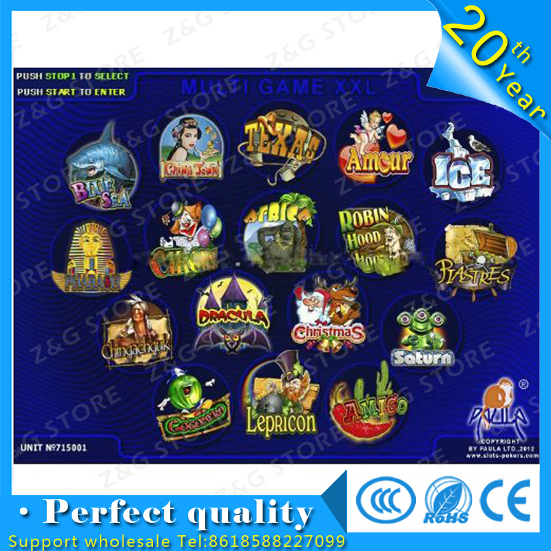 Casino games MULTI GAME XXL 17 in 1 with high win rate 90-96%/slot game board Slot Game PCB монитор hp 34 z34c k1u77a4