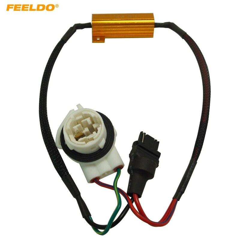 Wire Apprehensive Feeldo 10pcs 3156b No Error Load Resistor No Flickering Decoder For Led Light #fd-5343