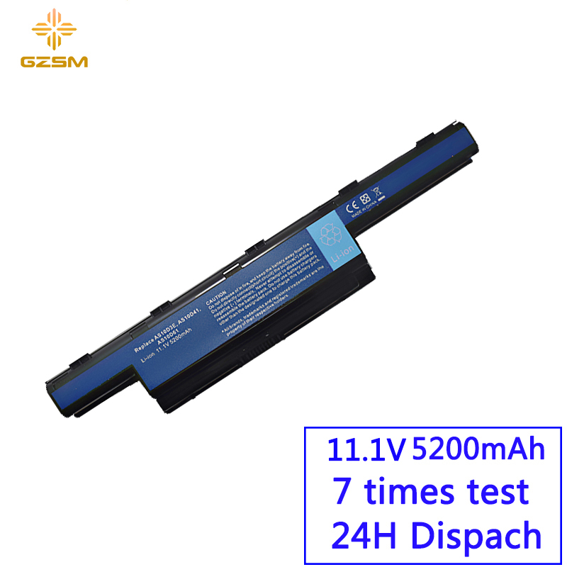 GZSM Laptop Battery 4741 For ACER  AS10d81 AS10d51  Batteries AS10d31 Battery For Laptop Aspire 5552g E1-531 Battery