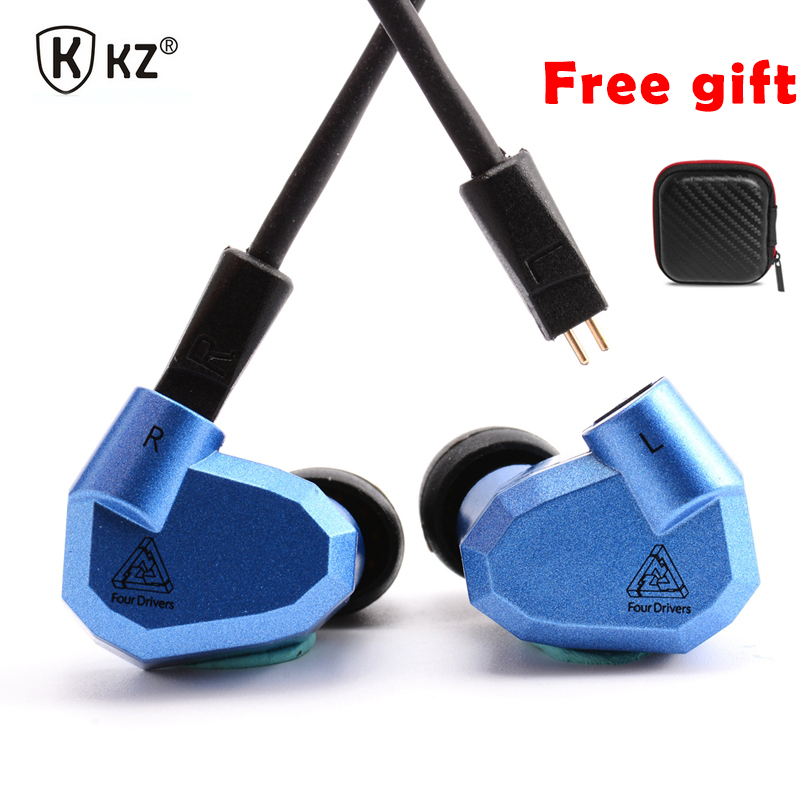KZ ZS5 2DD+2BA Earphone HIFI DJ Earphones Sport Headset Earbud Monito Running KZ ZST Hybrid In Ear Earplug For Smart Phone Mp3 hangrui xba 6in1 1dd 2ba earphone hybrid 3 drive unit in ear headset diy dj hifi earphones with mmcx interface earbud for phones
