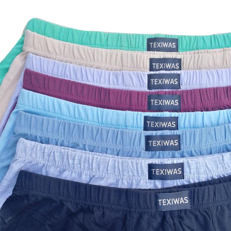 100% cotton  Big size underpants men's Boxers plus size  large size shorts breathable cotton underwear 5XL 6XL 4pcs/lot 2