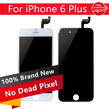 3PCS/LOT NO Dead Pixel LCD Screen For iPhone 6S Plus LCD Display Digitizer Touch Screen Assembly Replacement Free DHL Shipping